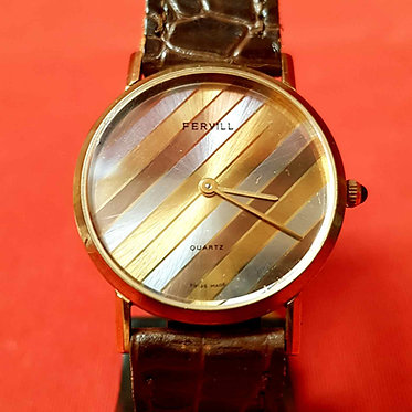 RELOJ FERVILL, Swiss made, VINTAGE, NOS (new old stock)