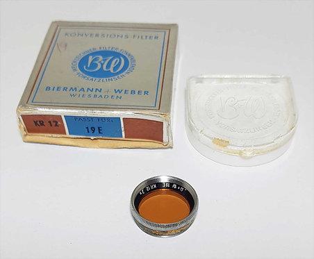 FILTRO B+W KR 12 2x, 19 mm