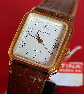 RELOJ CERTINA VINTAGE, NOS (new old stock)