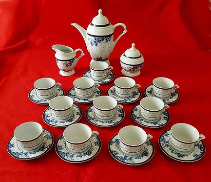 juego café porcelanas del principado