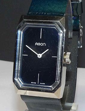 Reloj AGON, Swiss made, vintage, NOS