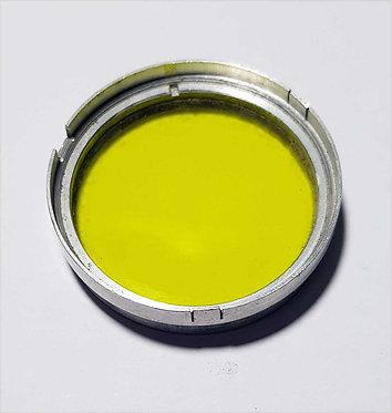 FILTRO DISCO, AMARILLO 37 mm