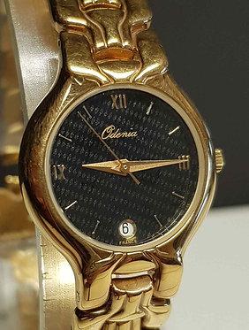 Reloj ODENIA, 18K electroplated- vintage- NOS