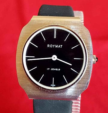 RELOJ ROYMAT  DE CUERDA , Swiss made, Vintage, nuevo