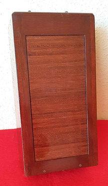 CHASIS MAGAZINE de madera y PORTAPLACAS para placas de cristal de 9 x 18 cm