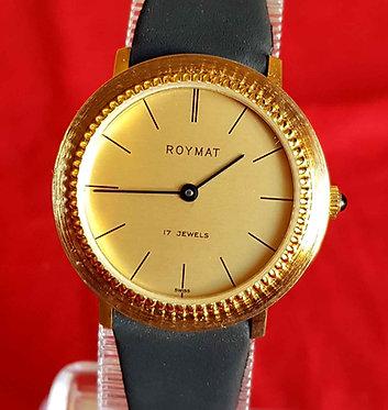 RELOJ ROYMAT VINTAGE, Swiss made, NOS (NEW OLD STOCK)