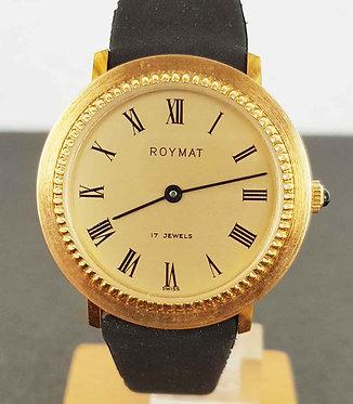 Reloj ROYMAT, Swiss made, vintage, NOS