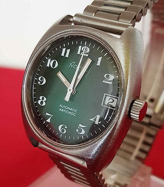 Reloj ACTION automático, vintage, C1970, NOS