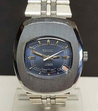 Reloj THERMIDOR, Swiss Made,de cuerda, vintage, c1970, NOS (New Old Stock)