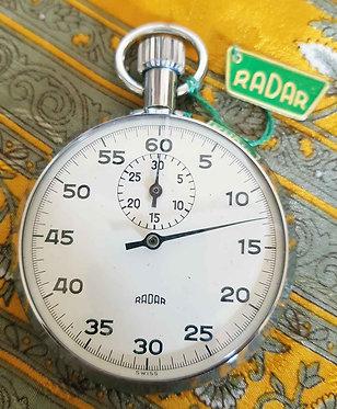 CRONÓMETRO RADAR 57 MM, AÑOS 70 NOS - NUEVO