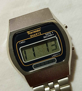 Reloj THERMIDOR digital, VINTAGE , NOS (new old stock)