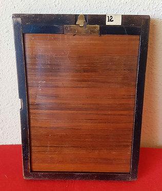 CHASIS PORTAPLACAS de madera, para placas de cristal de 13 x 18 cm
