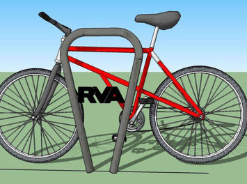 Ahead of 2015 race, Richmond to roll out 'RVA'-branded bike racks