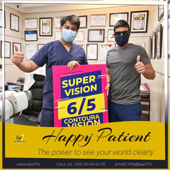 Contoura Vision- Happy Patient
