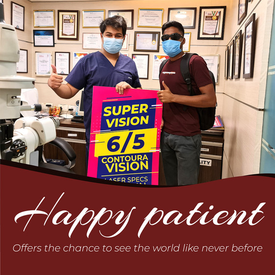 Best Specs Removal Surgery- Contoura Vision