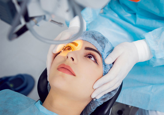 What is the most advanced laser eye surgery available?