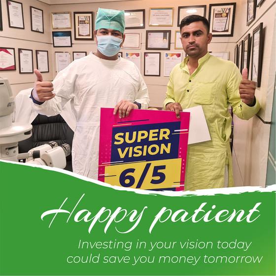 Contoura Vision - Happy Patient