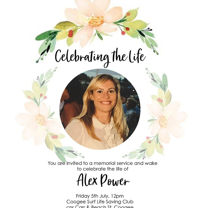 Funeral Service for Alexandra Power (1)