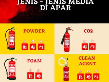 KENALI BEBERAPA JENIS MEDIA APAR / FIRE EXTINGUISHER
