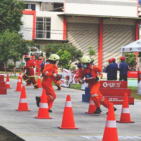 Fire Safety Challenge by Dinas Damkar 2021