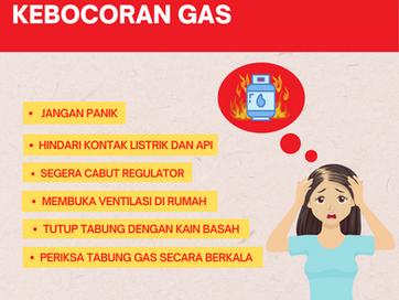 Tips Mengatasi Kebocoran Gas
