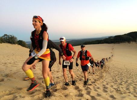 Tips for running on soft sand