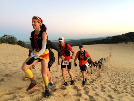 Tips for running on soft sand