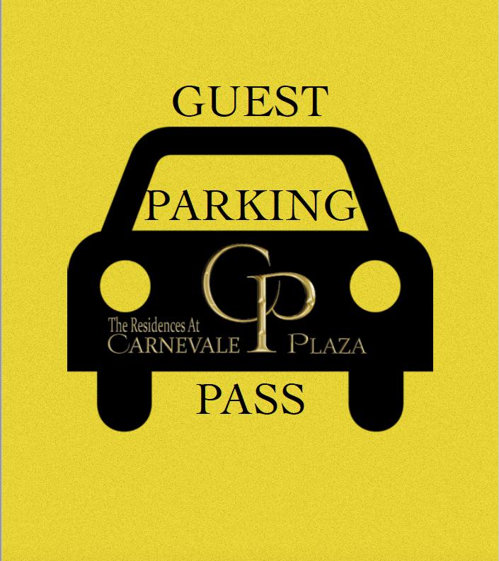 Carnevale Guest Parking Pass