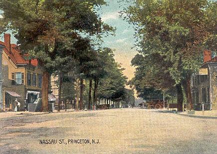 Nassau Street in Princeton