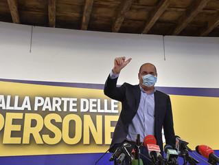 """Zingaretti: """"Vittoria di squadra, ora realizziamo l'agenda che si è dato il governo"""""""