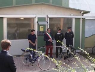 Inaugurati i silos delle biciclette