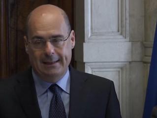 Le dimissioni di Zingaretti da segretario PD