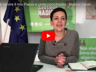 Le risposte di Nadira ad alcuni commenti su FB