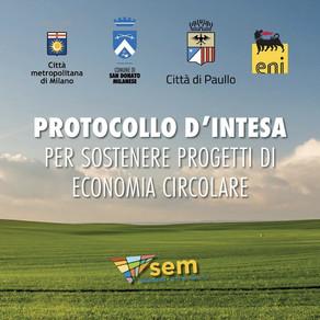 Protocollo d'intesa per sostenere un'economia circolare