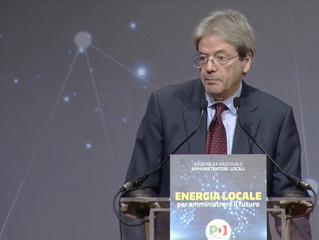 L'intervento di Paolo Gentiloni a #EnergiaLocale - Torino 12/13 gennaio
