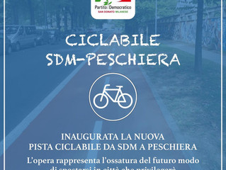 Inaugurata la nuova pista ciclabile da San Donato a Peschiera