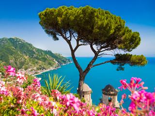 Ravello scenic coastal view