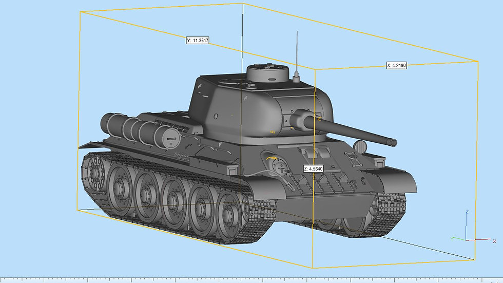 T34 Highly Detailed