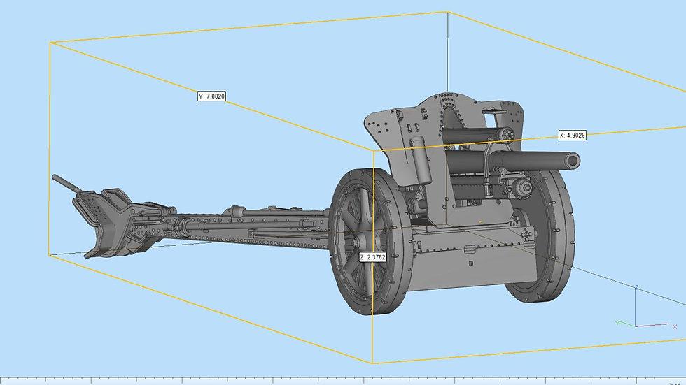 10.5cm leFH 18 Howitzer Detailed