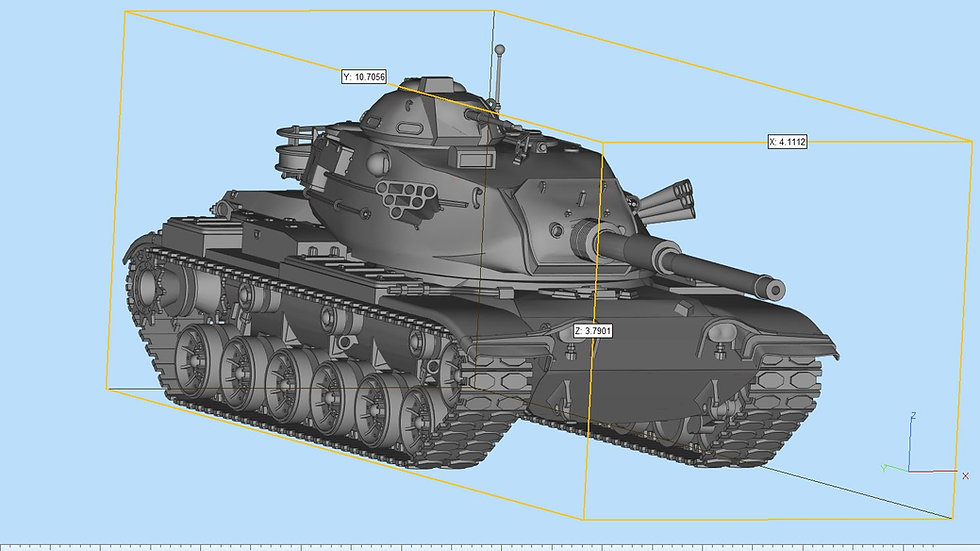 M60 Patton Highly Detailed