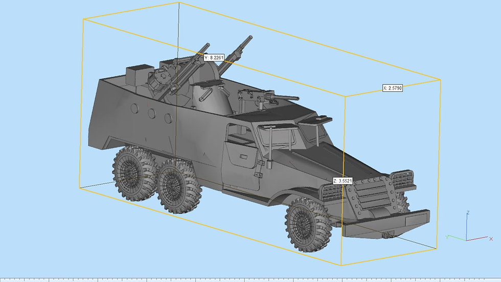 BTR 152 Highly Detailed