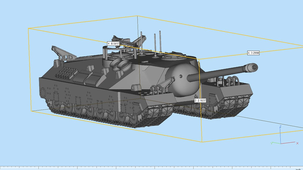T95 Heavy Tank Highly Detailed