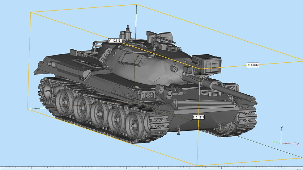 Type74 Tank Highly Detailed