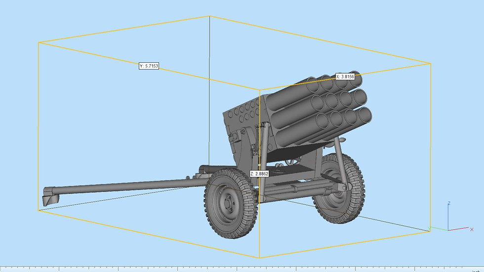Type 63 MRL Highly Detailed