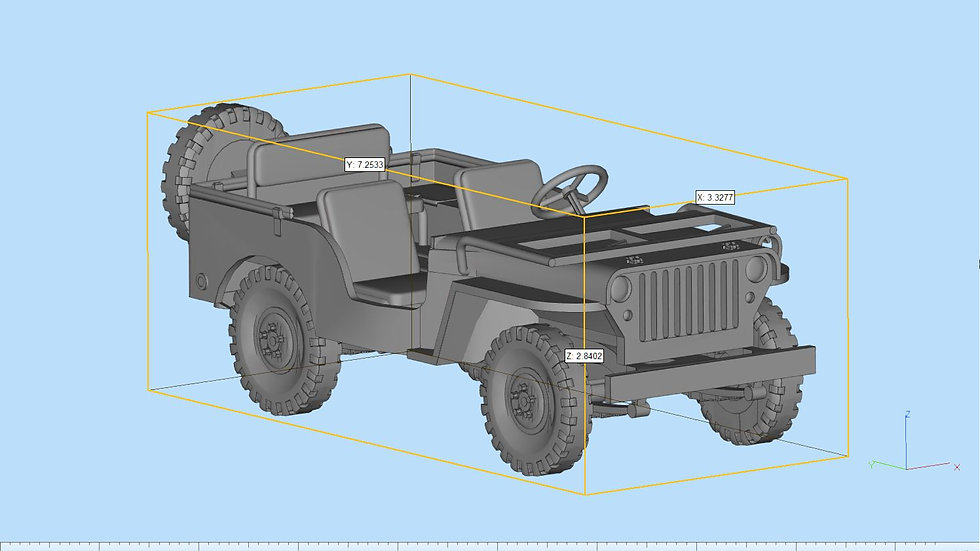 Jeep Willys MB Highly Detailed