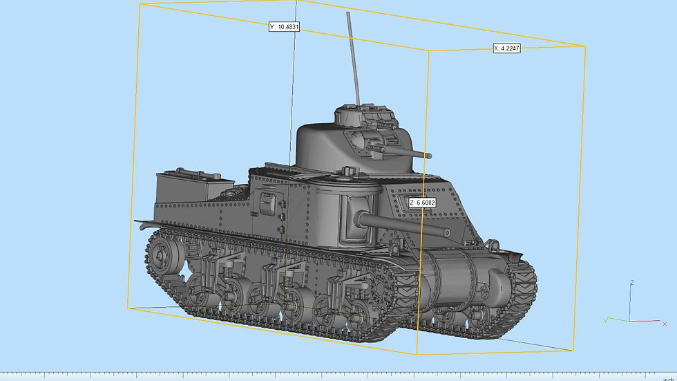 M3 Lee Highly Detailed