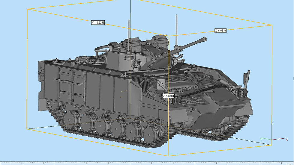 Warrior APC Highly Detailed