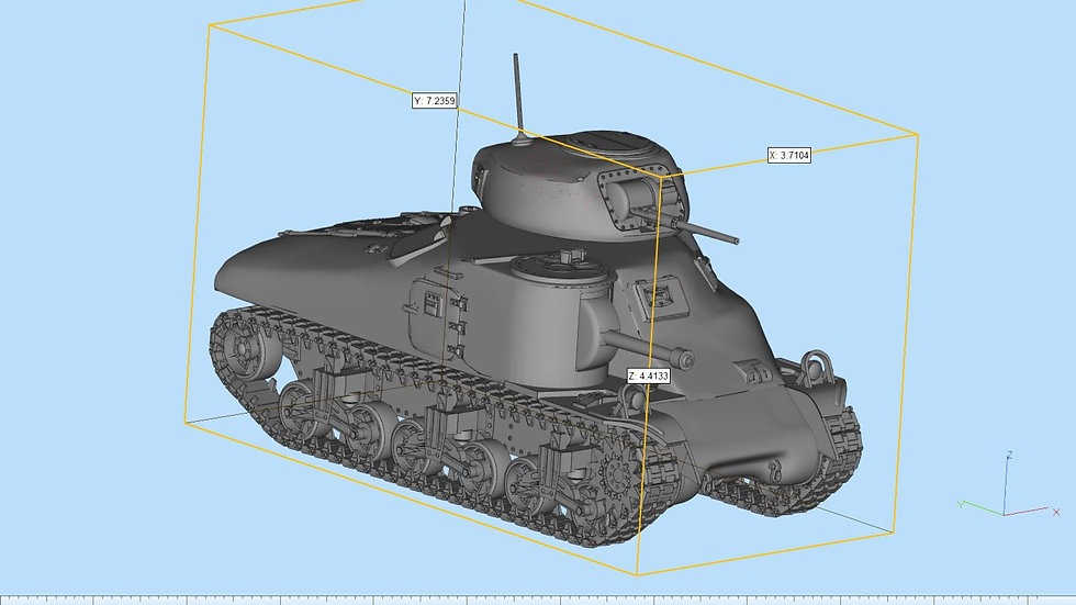 M3 Grant Cast Hull Detailed