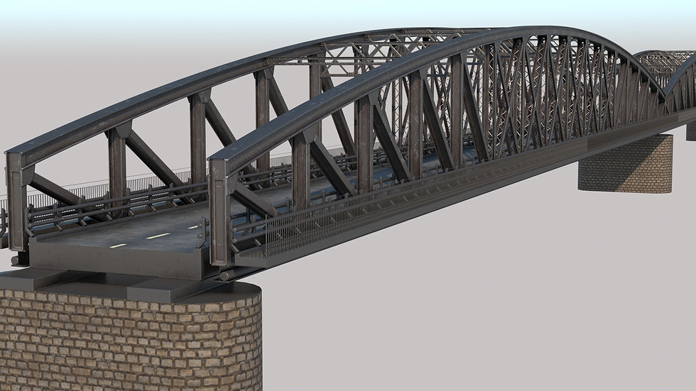 Steel Truss bridge PBR