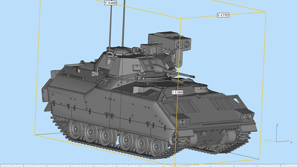 M2A3 Bradley Highly Detailed